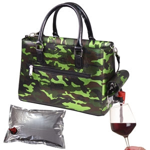 Drink Purse Camo Green