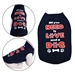 All You Need Dog Shirt Navy Blue - 6111#NAME?