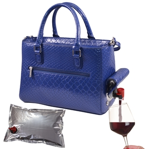 Drink Purse Blue Burmese