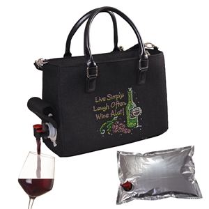 Drink Purse Live Laugh Wine