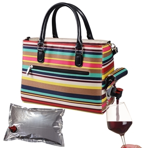 Drink Purse Nautical Stripe