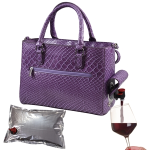 Drink Purse Purple Burmese