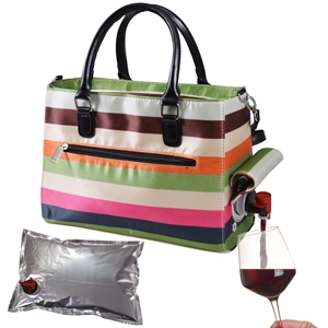 Drink Purse Stripe