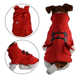Duffle Coat Red