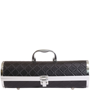 Gala Black Quilted