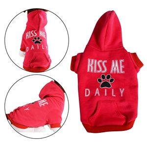 Kiss Me Daily Dog Sweatshirt